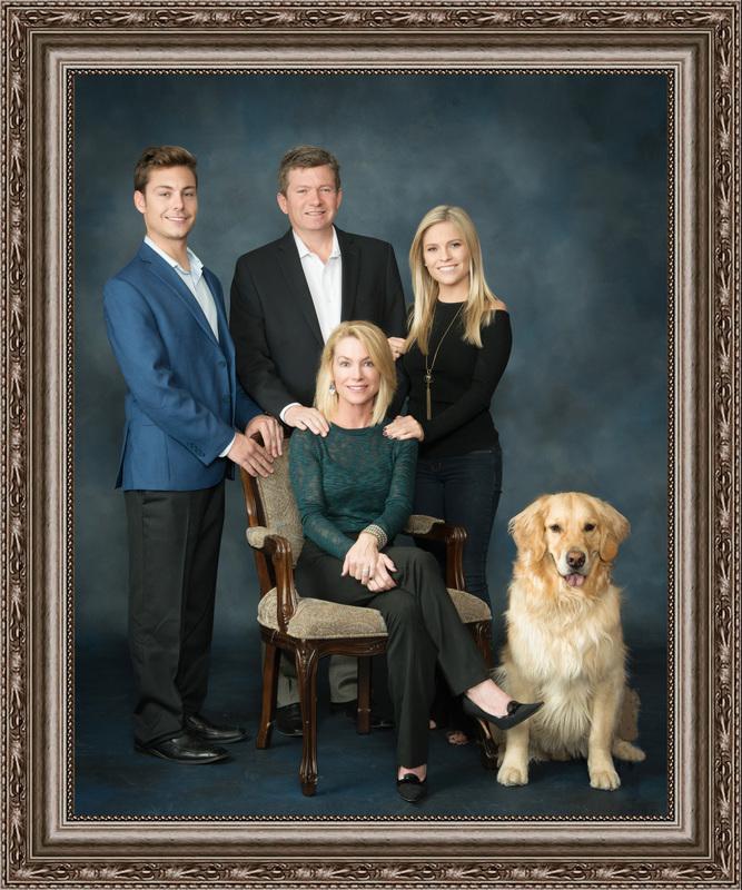 In-Studio Family Portrait Session