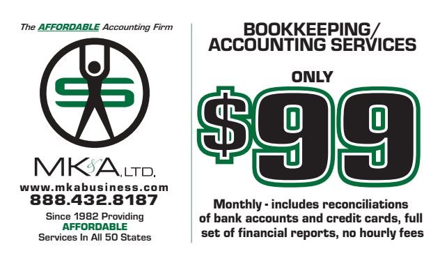 Monthly Bookkeeping